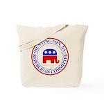 Huntington Gop Tote Bag