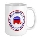 Huntington Gop Mug Mugs