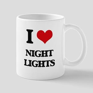 I Love Night Lights Mugs