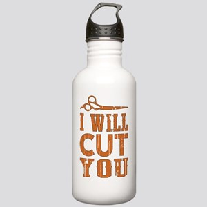 I Will Cut You Stainless Water Bottle 1.0L