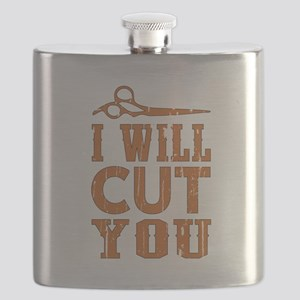 I Will Cut You Flask