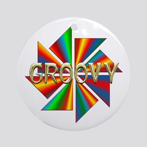 GROOVY Ornament (Round)