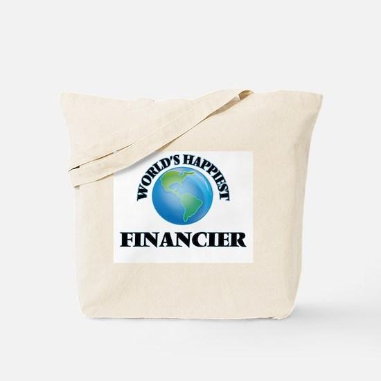 World's Happiest Financier Tote Bag