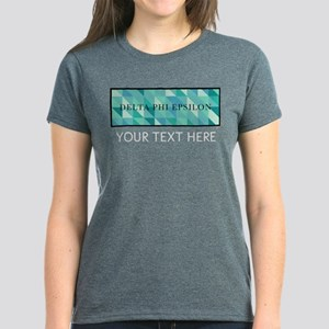 Delta Phi Epsilon Geometric P Women's Dark T-Shirt