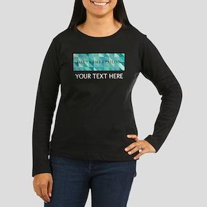 Delta Phi Epsilon Women's Long Sleeve Dark T-Shirt