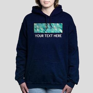 Delta Phi Epsilon Geomet Women's Hooded Sweatshirt