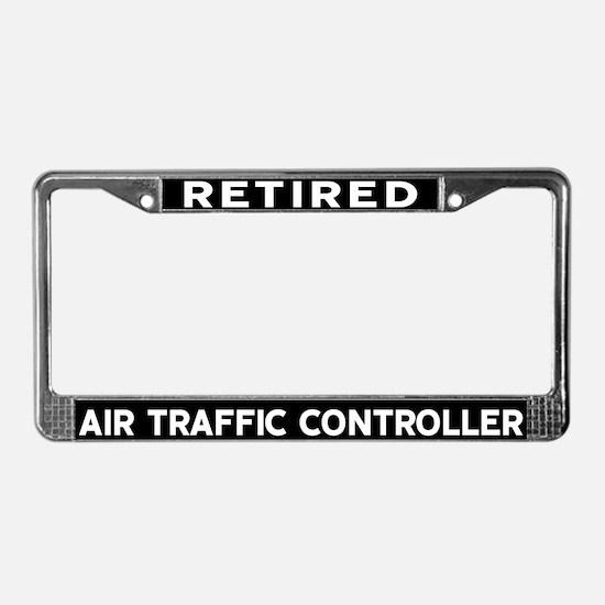 Air Traffic Controller License Plate Frame