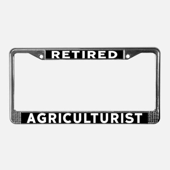 Agriculturist License Plate Frame