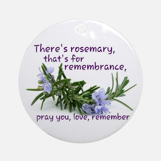 Pray you, love Remember Ornament (Round)