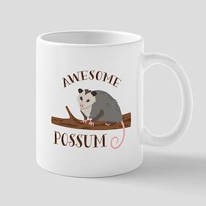 Awesome Possum Mugs