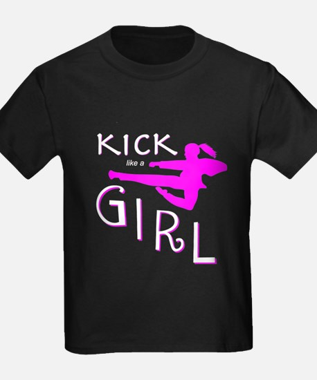 Cute I kick like a girl T