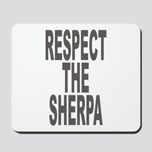 Respect The Sherpa Large Mousepad