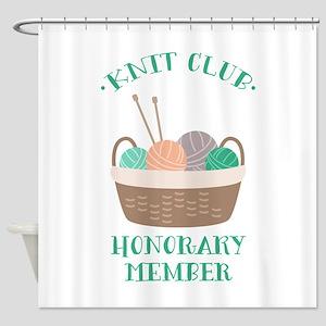 Knit Club Shower Curtain