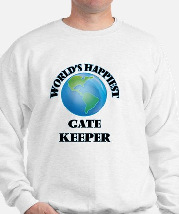 World's Happiest Gate Keeper Sweatshirt