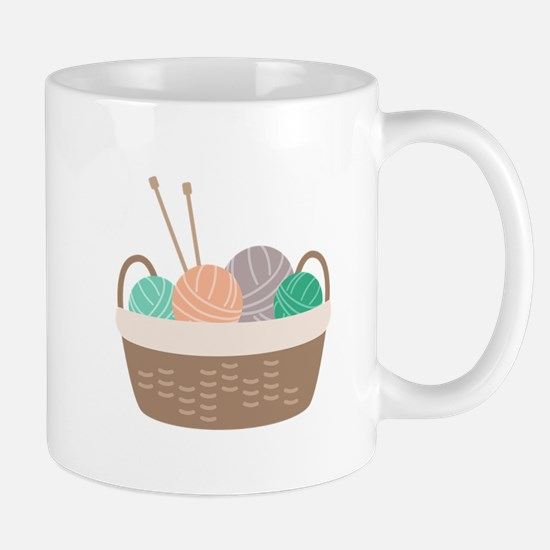 Knitting Basket Mugs