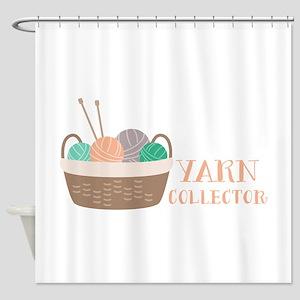 Yarn Collector Shower Curtain