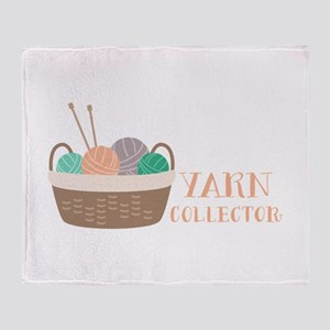 Yarn Collector Throw Blanket