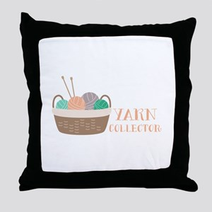Yarn Collector Throw Pillow