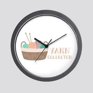 Yarn Collector Wall Clock