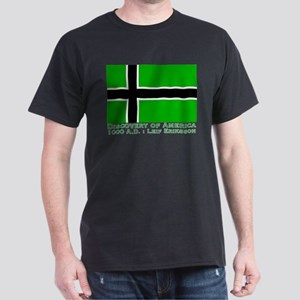 Leif Eriksson Flag Dark T-Shirt