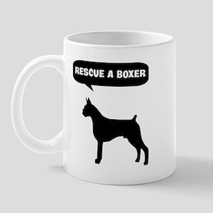 Rescue a Boxer Mug