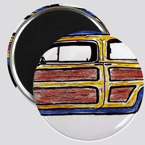 Dark Blue Woody Magnet