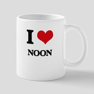 I Love Noon Mugs