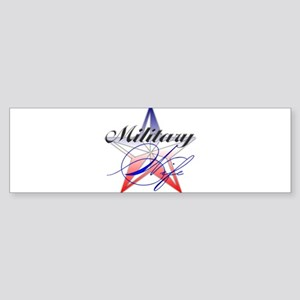 MilitaryWife Bumper Sticker