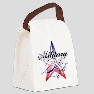 MilitaryWife Canvas Lunch Bag