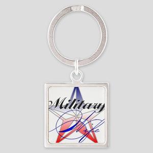 MilitaryWife Keychains