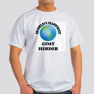 World's Happiest Goat H T-Shirt