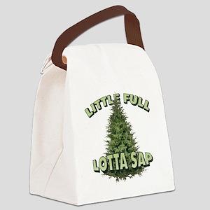 Little Full Lotta Sap Canvas Lunch Bag