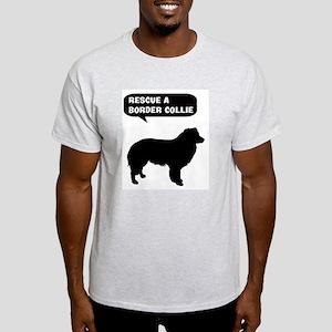 Rescue a Border Collie Light T-Shirt