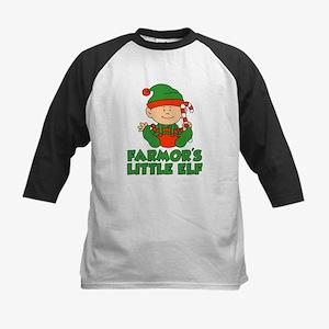 Farmor's Little Elf Baseball Jersey