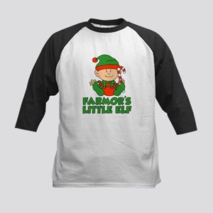 Farmor's Little Elf Baseball Jersey