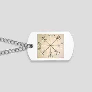 Asatru Compass Dog Tags