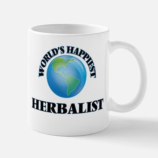 World's Happiest Herbalist Mugs