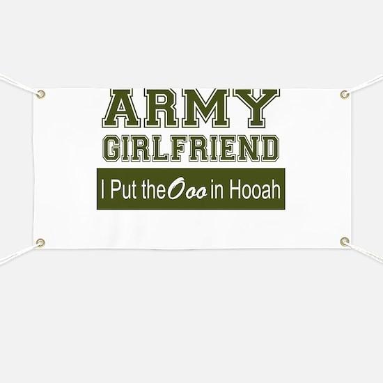 Cute Army girlfriend Banner