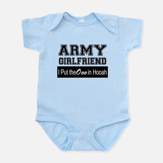 Army Girlfriend Ooo in Hooah_Black Body Suit