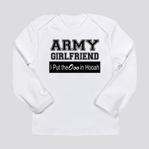 Army Girlfriend Ooo in Hooah_B Long Sleeve T-Shirt