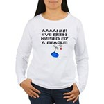 Peanuts Kissed by a Be Women's Long Sleeve T-Shirt