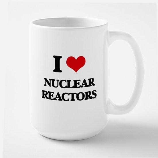 I Love Nuclear Reactors Mugs