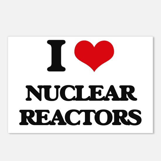 I Love Nuclear Reactors Postcards (Package of 8)