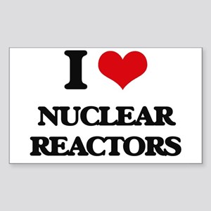 I Love Nuclear Reactors Sticker