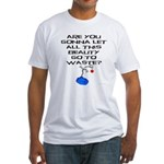 Peanuts Wasted Beauty Fitted T-Shirt