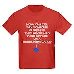 peanuts bubblegum Kids Dark T-Shirt