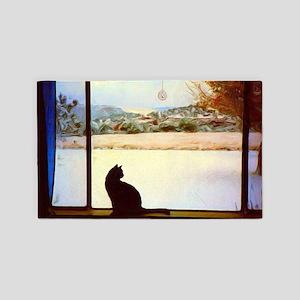 Tosca's Winter Window Area Rug