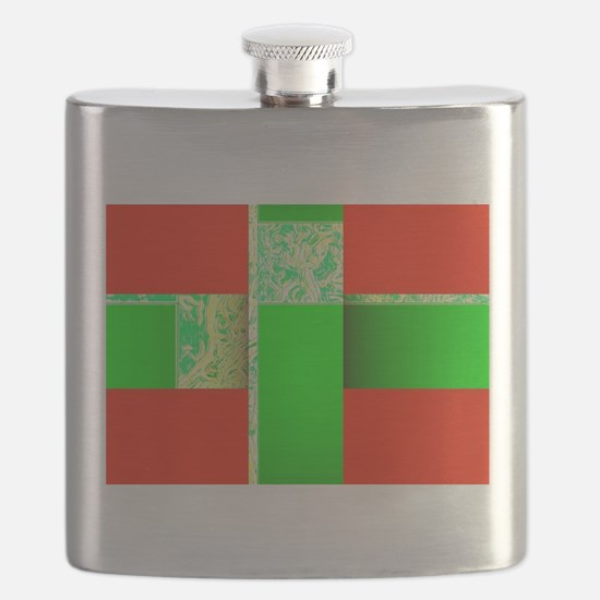 Red Green Wondrous Xmas Parcel 68 Flask