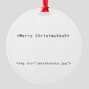 geekchristmukkah Ornament