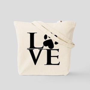 Animal LOVE (both sides) Tote Bag